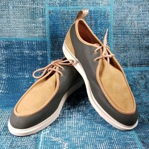Dr. Martens LEVERTON Suede and Canvas Size 13M